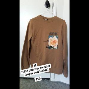 Tan H&M Pullover Sweater